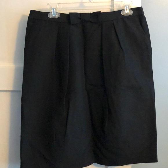 Talbots Dresses & Skirts - Talbots Black Bow Skirt